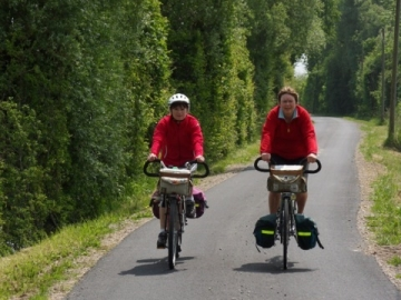 Randonnée vélo avec l''Amicale Cyclo Caennaise