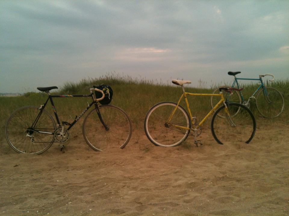 <strong>sortie à la mer</strong><br/>&copy; Caen Urban Bike